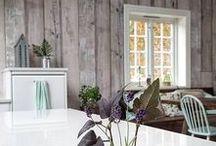 Scandinavian interior design. / Interior design inspired by Scandinavia.