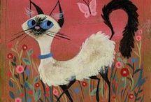 The illustrated Cat / Cat illustrations