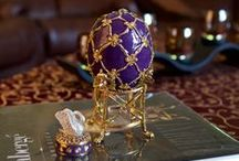 Faberge Eggs / Gift shop offers high quality replicas of famous Russian Faberge eggs. Visit www.BestPysanky.com / by BestPysanky Inc
