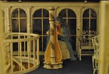 Dollhouse minis from Italy / The most beautiful works made by italian artists!