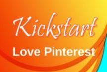 Love Pinterest / Tips for handling your Pinterest account Kickstart Creative Works - Digital Media Marketing