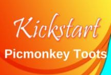 PicMonkey Tutorials / Kickstart Creative Works inspiring you with all the neat things you can do with free tutorials on PicMonkey.