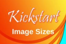 Image Sizes / Kickstart Creative Works providing current image size infographics for as many social media and content sites as I can.