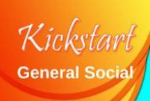 General Social / Kickstart Creative Works posting any solid general social media guidelines.
