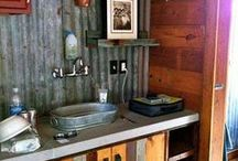 Rustic style / Often with the simplest materials, and well organized areas, you can make the coziest, most functional home imaginable.