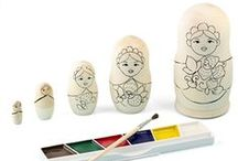 Blank DIY Do It Yourself Craft Kits, CYO Color Your Own Arts and Crafts Blank Unpainted Sets / Blank DIY Do It Yourself Craft Kits, CYO Color Your Own Arts and Crafts Blank Unpainted Sets PYO Paint Your Own  / by BestPysanky Inc