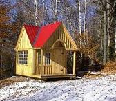 Cottages. JCS / All wood, traditionally crafted post + beam cottages, made in Vermont, since 1995. Most available as Plans $19.95 - $69.95, Kits - 2 people 40 hours for medium size models + Fully Assembled in the northeast. Kits ship *Free in the continental US + eastern Canada. Toll free 1-866-297-3760 in house staff Monday - Friday 8-5pm, Saturday 9-4 + Sundays by chance or appointment. Eastern Standard Time. Or email design@jamaicacottageshop.com