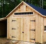 Garages. JCS / Even though we are well known as a tiny house company, we have grown our line of traditionally crafted post + beam garages from sheer demand. Most available as Plans $19.95 - $49.95, Kits - 2 people 30 hours for medium size models + Fully Assembled in the northeast. Kits ship *Free in the continental US + eastern Canada. Toll free M - F 8-5, Saturday 9-4 + Sunday by chance or appointment.  Eastern Standard Time. In house staff 1-866-297-3760 email design@jamaicacottageshop.com