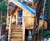 Cabins. JCS / Traditionally crafted post + beam Cabins are available as Plans $19.95 - $69.95, Kits - 2 people 32 hours for our medium size models + Fully Assembled in the northeast. Kits ship *Free in the continental US + eastern Canada. In house staff is available toll free 1-866-297-3760 Monday - Friday 8 - 5pm, Saturday 9-4 + Sunday by chance or appointment. Eastern Standard Time. Or email design@jamaicacottageshop.com http://jamaicacottageshop.com/free-shipping/