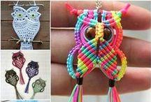 DIY Jewelry - Macrame / DIY Jewelry - Macrame / by Aunt Pitty Pat