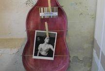 custodie riciclate / custodie di violino trasformate in ...