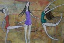 dipinti su tela / dipinti a varie tecniche su tela