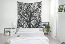 Wall Tapestries / A selection of wall tapestries from our shop