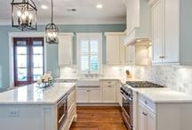 Kitchen Renovation Ideas / Ideas for renovating our first and brand new home