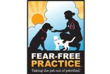 Fear Free Vet Visits / Take the pet out of petrified!  See how we reduce anxiety and stress in our four legged patients