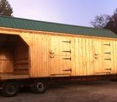 Farm. Stall Barns. JCS / Our traditionally crafted post and beam night shelter for your backyard homestead or large farm. Available as easy to follow Plans, Kits, or fully assembled in the Northeast. In house staff is available toll free 1-866-297-3760 Monday - Friday 8-5pm, Saturday 9-4 + Sunday by chance or appointment. Eastern Standard Time. Or email design@jamaicacottageshop.com http://jamaicacottageshop.com/free-shipping/
