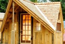 Tiny Houses. FA. JCS / Traditionally crafted post + beam Tiny Houses. Fully Assembled buildings delivered in the northeast. Questions? Our in house staff is available toll free 1-866-297-3760 Monday - Friday 8-5pm, Saturday 9-4 + Sunday by chance or appointment. Eastern Standard Time. Or email design@jamaicacottageshop.com http://jamaicacottageshop.com/free-shipping/