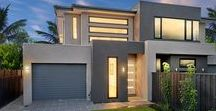 Ormond 27 (dual occupancy) / The Ormond 27. Features include: Capital facade, 2740mm ceiling to ground floor, 2590mm ceiling to first floor, ground floor ensuite, square set to ground floor, under stair storage, evaporative cooling, tile upgrade, skylight, timber floor upgrade, intercom system and much more.