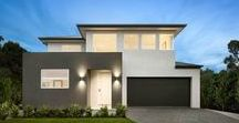 """Radisson 38 / Brisbane facade, 2740mm (9') ceilings to ground floor, 2590mm (8'6"""") ceilings to first floor, Kitchen/Pantry – Additional Cabinetry, Oven/Cooktop/ Rangehood Upgrade, 14mm French Oak Timber Flooring, WIRs – Additional Cabinetry, Refrigerated Cooling, Laundry Chute, Niches to Showers, Tile Upgrades, Electrical Upgrades, Ducted Vacuum, Video Intercom."""