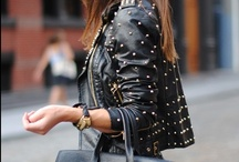 Leather and Biker Jackets, Best fashion with leather jackets / Women's leather jackets. How to wear leather jacket? Best style with biker jackets.