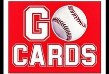 Baseball, St. Louis Cards / by Sherry Bodine Sellers