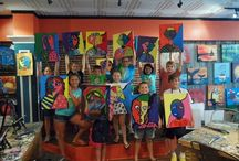 Kids Camp & Family Days! / Bring the kids and attend one of our Family Days! They are offered 2-3 times per month on the weekends. And for those little artists-in-training, we offer our kids camps during the summer.