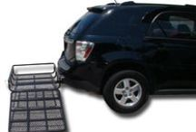 Wheelchair Carrier Ramps and Mobility Products / Let us help you explore the world with ease! We offer a variety of mobility products at affordable prices. Check out our wheelchair carrier ramps, portable ramps and tablet mounts for wheelchairs!