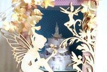 Scrapbook - M/A - Diorama/Przestrzenne prace Yoasia Workshop / Moje wycinankowe prace :)