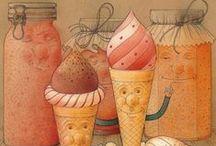 Kestutis Kasparavicius / Les illustrations à l'aquarelle de Kestutis sont extrêmement détaillées et attirent  l'attention des enfants. j'aime beaucoup