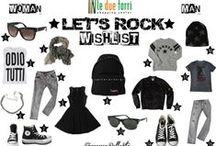 Let's Rock / Ecco la proposta per un outfit rock per lui e per lei, della fashion blogger Francesca Bellavita. Tutti i capi sono disponibili nei nostri punti vendita.