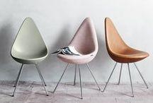 Furniture I love / Furniture that I love of my favorite designers: #arnejacobsen #brunomathsson #fritzhansen #kaspersalto #pierolissoni #piethein