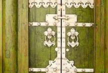 Les Portes m'inspirent / « Quand une porte se ferme, une autre s'ouvre.  » Miguel de Cervantès