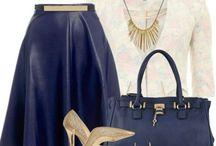 Blue/purple outfits