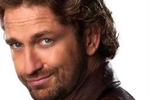 Gerard Butler / Another wonderful man from Paisley.  Paisley: It's a grand ol' town and creates the men that populated my clan. What can I say? It's those eyes. I blame those damn eyes for my obsession. / by Sloane Kensington
