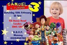 Toy Story Birthday Invitations / Toy Story Birthday Invitations and thank you cards #birthday #invitations #toystory