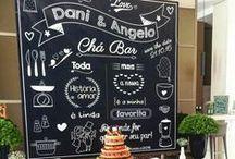 Casamento - Chá Bar/Chá de Panela/Chá de Lingerie / Chá-bar, chá de lingerie, chá de cozinha