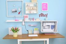Pretty Craft Rooms