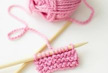 knitting / I wish I knew how to knit. Maybe one day / by Candice Toupin