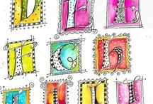 Illuminated Letters & Borders