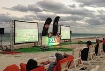 Super Bowl XLVII at Dreams Riviera Cancun