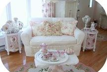Shabby Chic~ / by Ginger Burrows