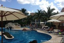 Ringing in the New Year - Secrets Aura Cozumel / To help us celebrate 2014 and our incredible New Year Sale, we're showing you 14 photos of the amazing resorts with sales going on right now, where you can get up to 30% on your favorite resort! These photos come from Secrets Aura Cozumel, a beautiful resort located on an island in the gorgeous Caribbean Sea. If you'd like to learn more about Secrets Aura Cozumel, or any of the other resorts that are part of our New Year Sale, head to http://www.berwicktravel.com/specials/?fb