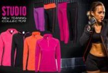 NEW! Workout Collection S/S '14 / Studio - Our newest workout collection in fresh colours! Great stretch for superior comfort.