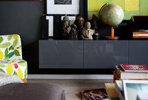 Design / Interior design, furniture, color, gallery walls