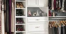 Closets / Dream closets and practical storage ideas alike