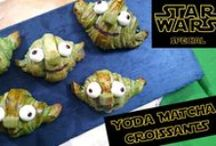 Star Wars Day - May the 4th (be with you) / Celebrate May the 4th (also known as Star Wars Day) with these fun, yummy, children and adult favorite recipes for all your favorite characters! I made Yoda croissants!