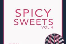 Spicy Sweets (Romantic Comedy) / The fourth and final volume in The Taste of Love Series from A.M. Willard. I said 'I do' to the first guy to sweep me off my feet after my heart shattered all those years ago. I didn't just vow to love him; nope, I signed on that line for both him and his daughter.