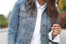 How to wear a denim jacket / How to wear a denim jacket for all seasons and styles
