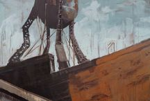 Paintings by Micah Krock / Paintings by Micah Krock for sale. Most cityscapes, or Urban Landscapes, are in Portland, Oregon