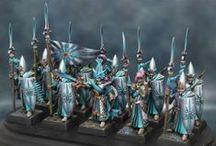Warhammer / Belles figurines par l'éditeur warhammer